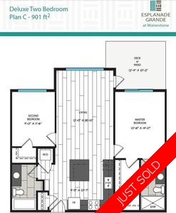 Clayton Condo for sale:  2 bedroom 901 sq.ft. (Listed 2017-04-27)