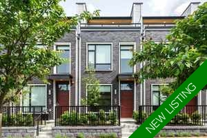 South Granville Townhouse for sale:  3 bedroom 1,637 sq.ft. (Listed 2018-07-18)
